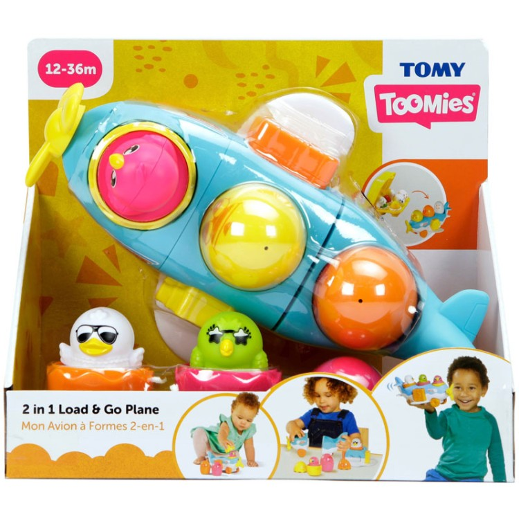 2 in 1 LOAD N GO PLANE TOMY
