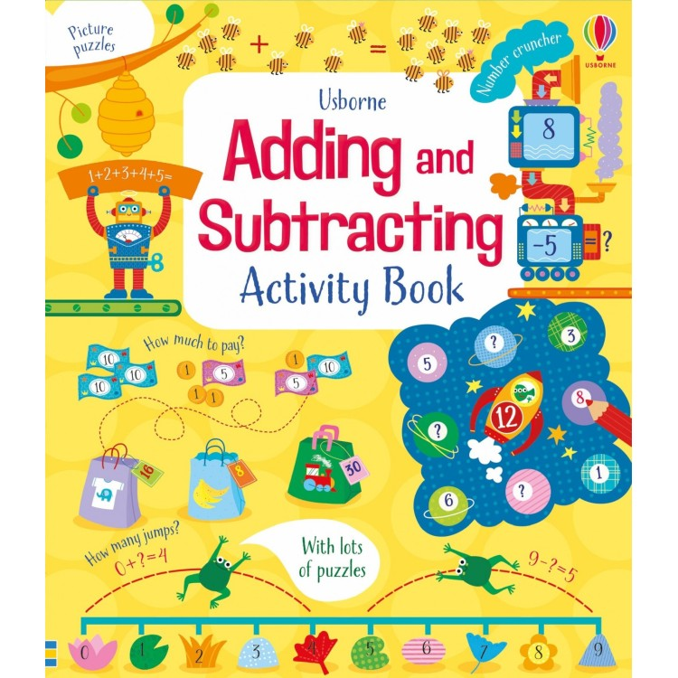 ADDING & SUBTRACTING ACTIVITY BOOK