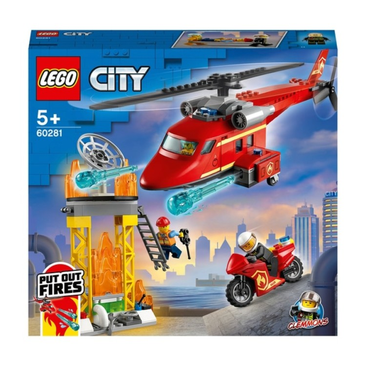 CITY FIRE RESCUE HELICOPTER