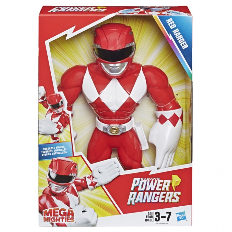 MEGA MIGHTIES POWER RANGERS RED RANGER