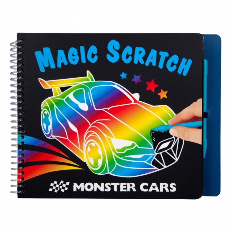 MONSTER CARS MAGIC SCRATCH