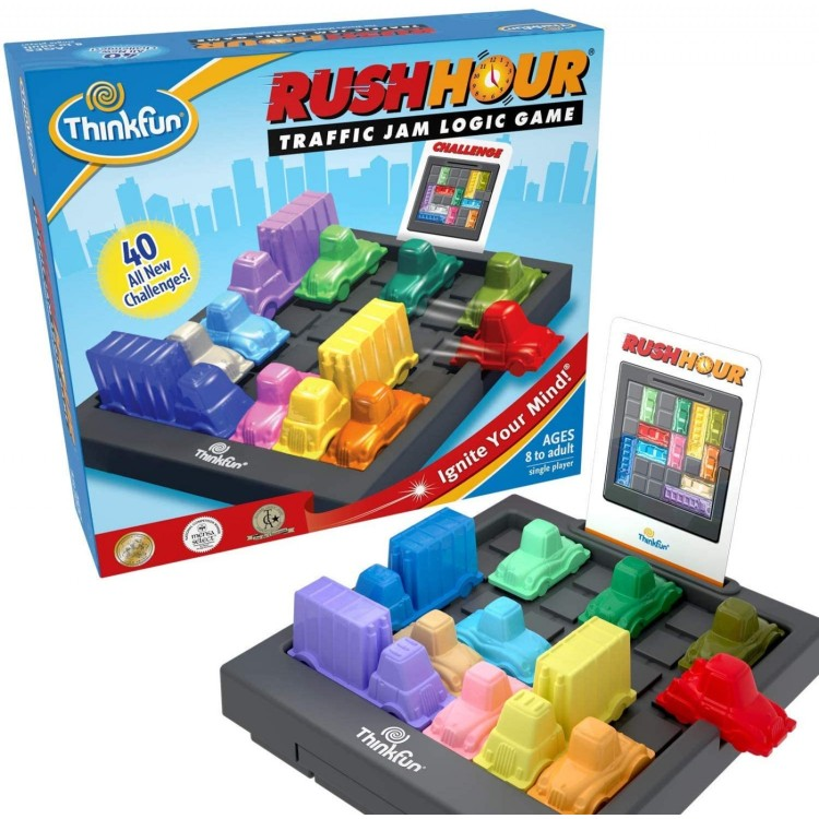 Rush Hour- Traffic Jam Logic Game
