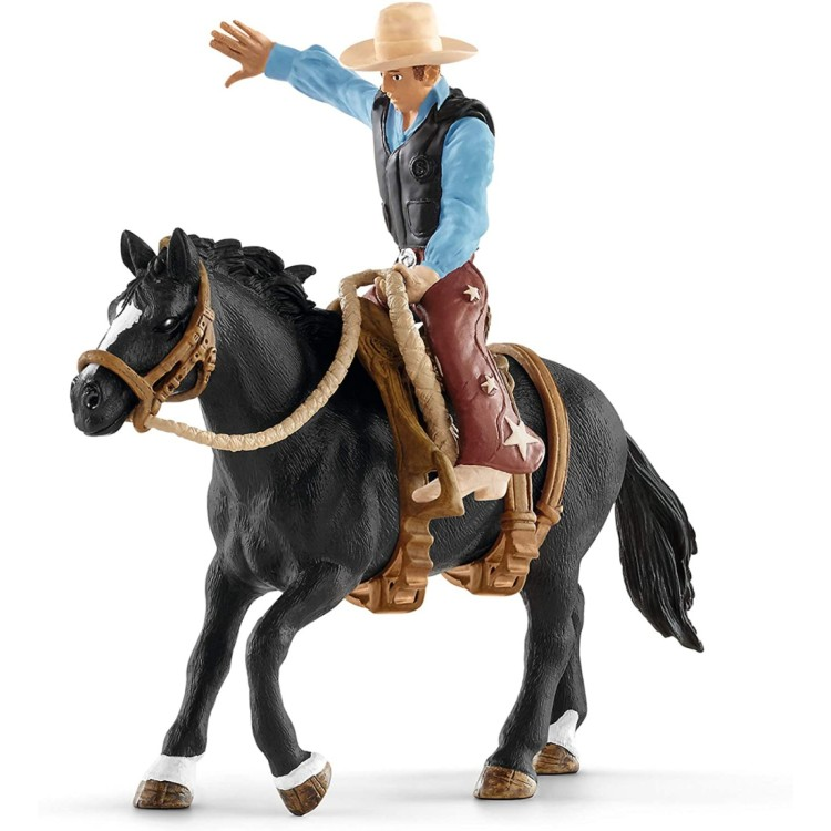 Saddle Bronc Riding with Western Cowboy 41416