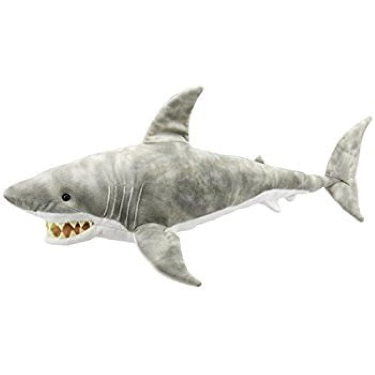 SHARK LARGE CREATURE PLUSH Puppet Company